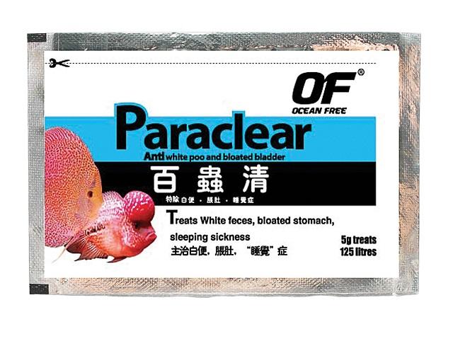 Paraclear ชนิดซอง 5 g.