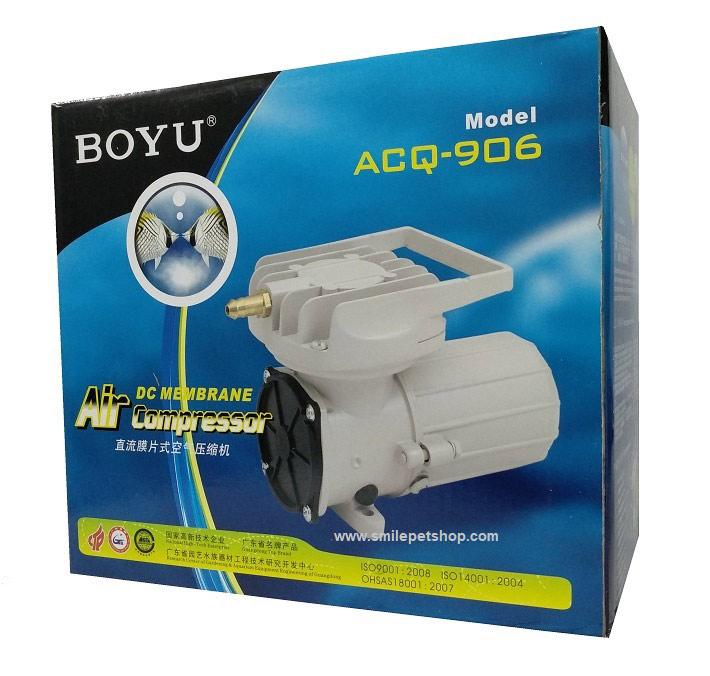 ปั้มลมต่อแบตเตอรี่(DC 12V) Boyu ACQ-906 1