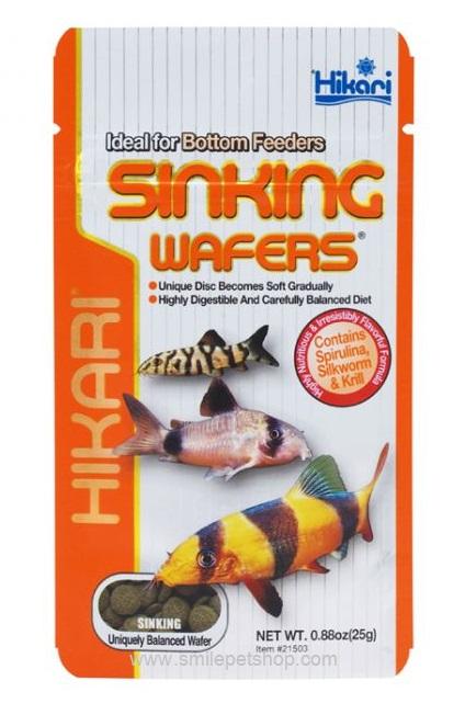 Hikari Sinking Wafers 25 g.