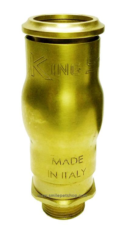 KING STAR หัวน้ำพุฟองเบียร์ ทองเหลือง 1 นิ้ว
