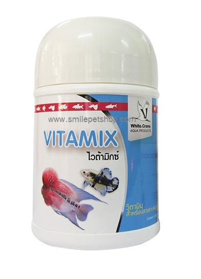Vitamix 250 g. วิตามินสำหรับเพาะพันธุ์ปลา