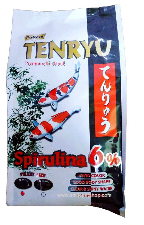 Tenryu Premium 1.5 kg. เม็ด 2 mm.