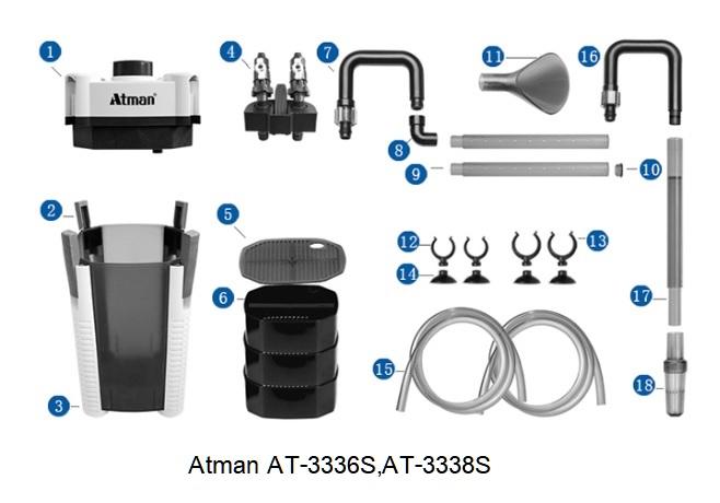 Atman AT-3338S 4