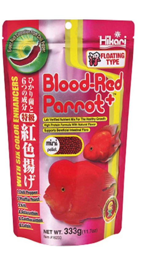 Hikari Blood-Red Parrot+ 333 g.