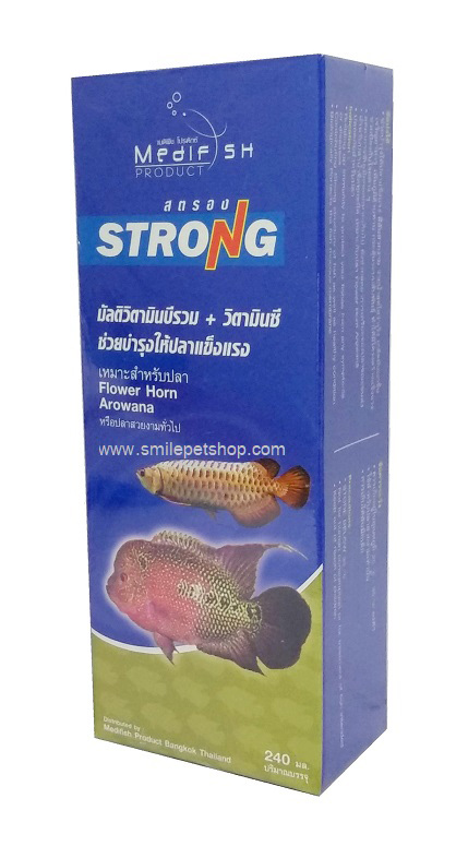 Strong ชนิดน้ำ 240 ml.