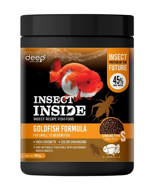 DEEP INSECT INSIDE 500 g. เม็ดจมน้ำ Small