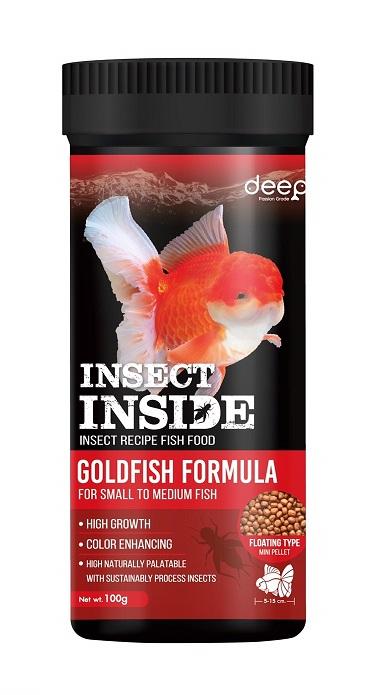 DEEP INSECT INSIDE  100 g. เม็ดลอย Mini