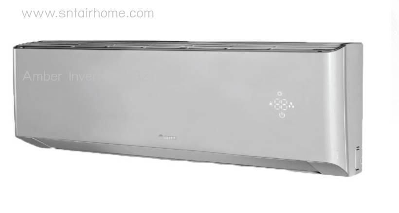 (เงินสด = 13,500 ฿) แอร์ Gree GWC09QBR32VI ขนาด 9,389 บีทียู Amber Inverter R32 อินเวอร์เตอร์