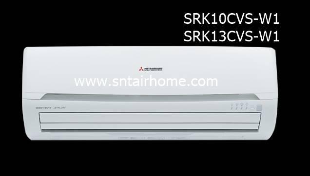 แอร์มิตซูบิชิ เฮฟวี่ดิวตี้ รุ่น SRK10CVS-W/SRC10CVS-W ขนาด 9,444 บีทียู Deluxe 3D สวิง น้ำยา R32
