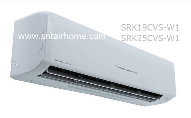 แอร์มิตซูบิชิ เฮฟวี่ดิวตี้ รุ่น SRK19CVS-W/SRC19CVS-W ขนาด 19,127 บีทียู Deluxe 3D สวิง น้ำยา R32