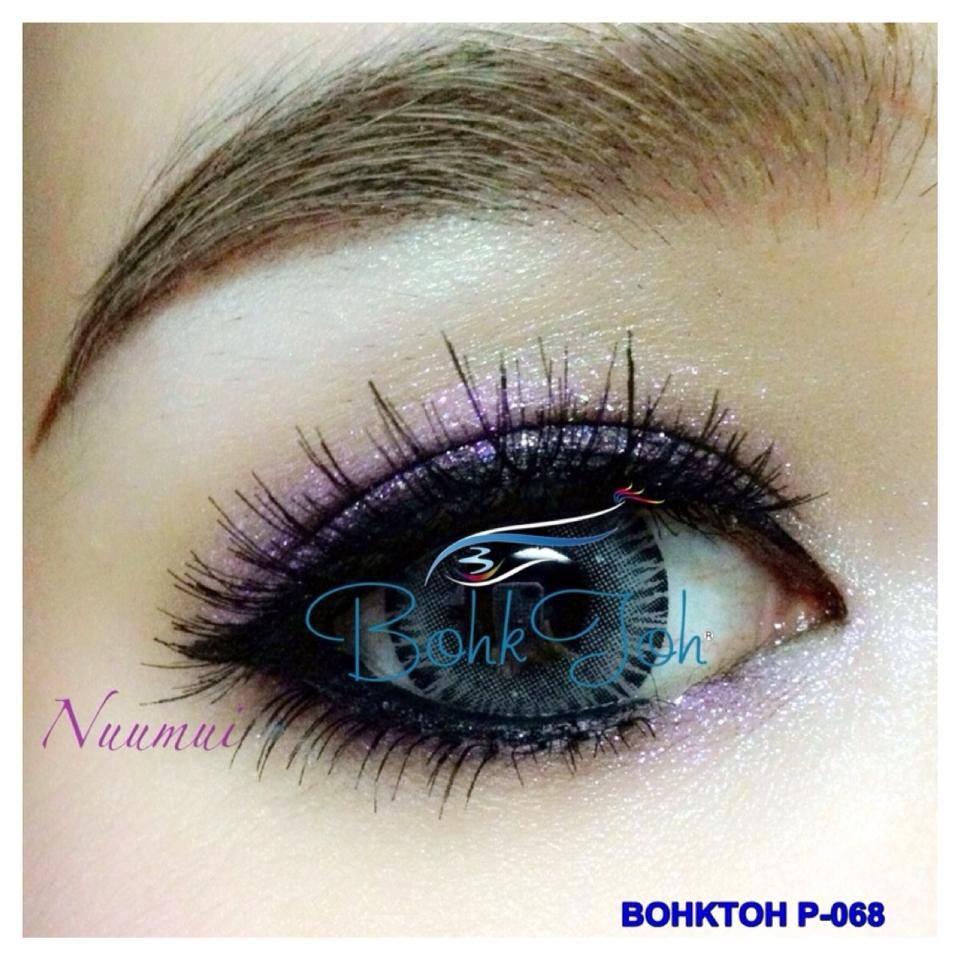 ขนตาปลอม..บอกต่อ Bohk Toh NO.P-068 1กล่อง มี 10 คู่ หนัก35g. ราคานี้ต้องซื้อ 30 ชิ้นค่ะ รหัส AE13