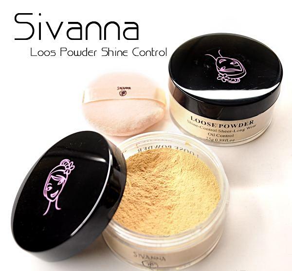 แป้งฝุ่น SIVANNA Loose Powder Shine-Control Sheer-Long Wear(เบอร์4) หนัก83g.รหัส MP85