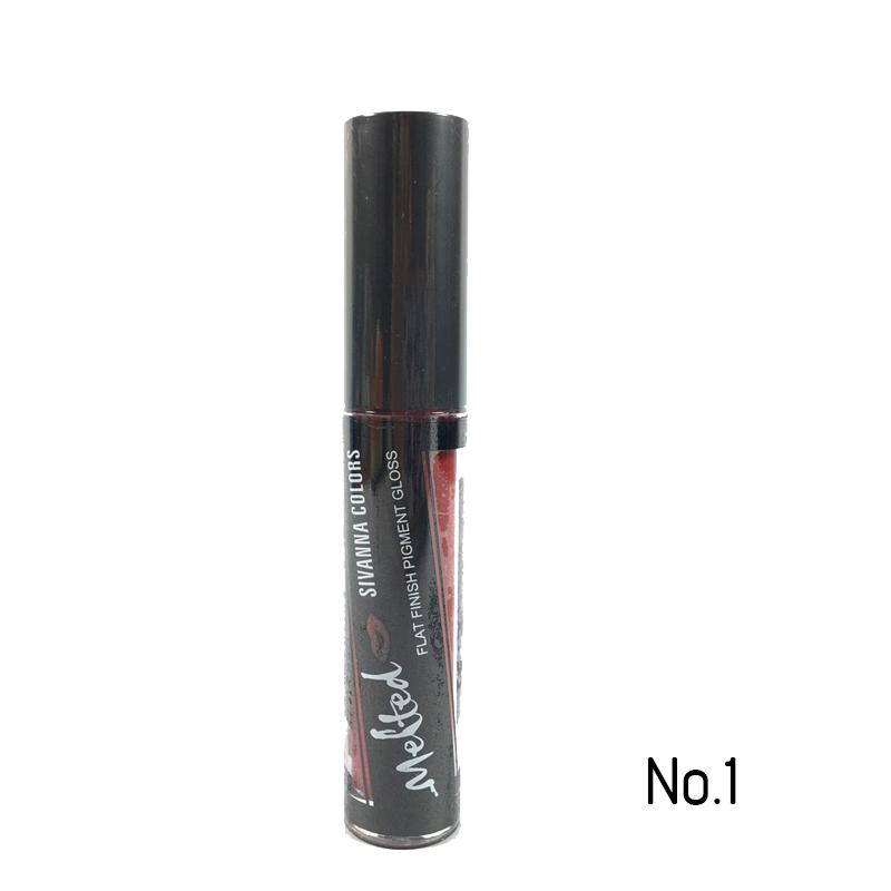 sivanna colors melted flat finish pigment gloss (No.1) W.31 รหัส L197