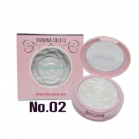 โรสบลัช Rose Grilled Blush Sivanna No.02 ราคาส่งถูกๆ W.48 รหัส BO253