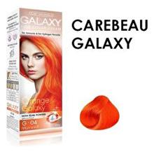 CAREBEAU แคร์บิว แฮร์ คัลเลอร์ ครีม กาแลคซี่ G-04 สีส้มกาแลคซี่ ราคาส่งถูก ๆ W.150 รหัส H134