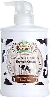 Beauty Nature Coconut Milk Shower Cream 500g.ราคาส่งถูกๆ W.590 รหัส SP128