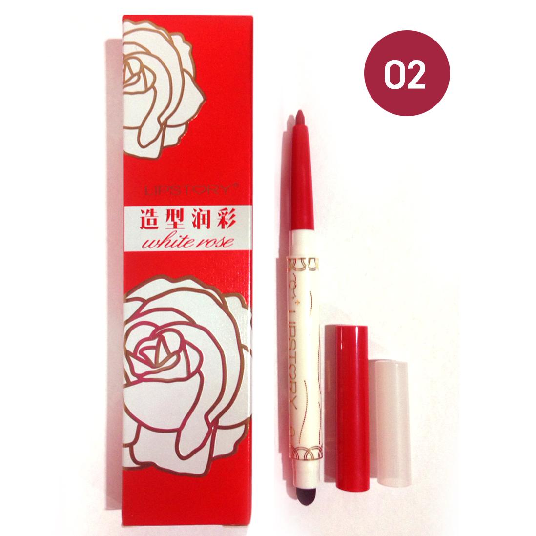 Lipstory white rose LS-728 ลิปไลเนอร์เนื้อแมทท์ เบอร์ 02 ราคาส่งถูกๆ W.30 รหัส L27