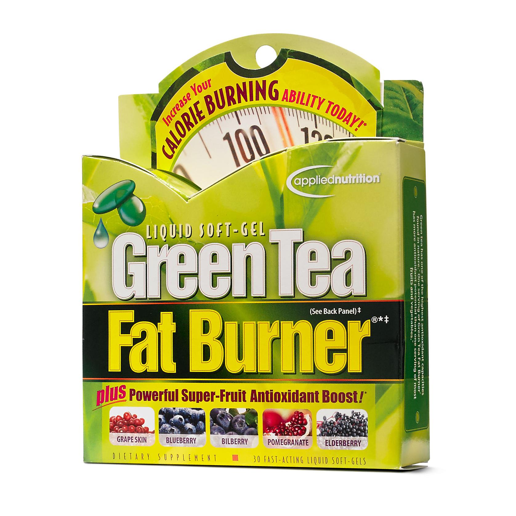 ชาเขียวลดน้ำหนัก Green Tea Fat Burner 30 Liquid Soft-Gel ราคาส่งถูกๆ W.105 รหัส i81