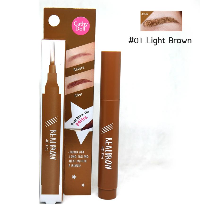 Real Brow 4D Tint 2 g. Cathy Doll ราคาส่งถูกๆ W.30 รหัส KM288