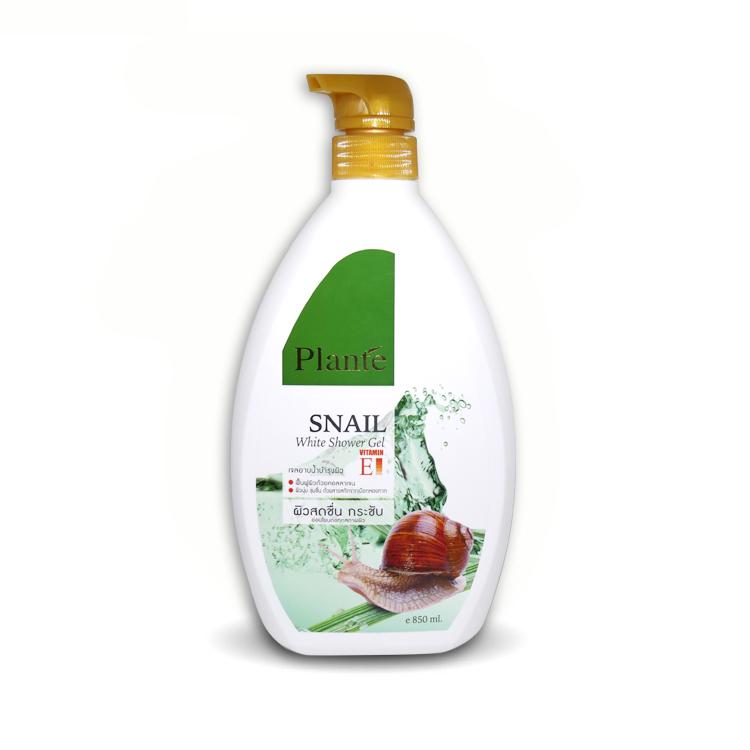 Plante Snail White Shower Gel แพลนเต้ สเนล ไวท์ ชาวเวอร์ เจล 850 มล. ราคาส่งถูกๆ W.955 รหัส SP131-2