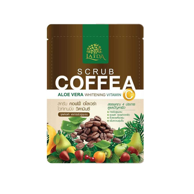 Lada Scrub Coffee สครับกาแฟลดา ราคาส่งถูกๆ W.85 รหัส BD125