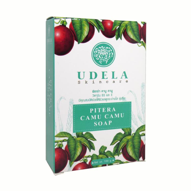 UDELA Skincare Pitera Camu Camu Soap 100 g. ราคาส่งถูกๆ W.125 รหัส FC87