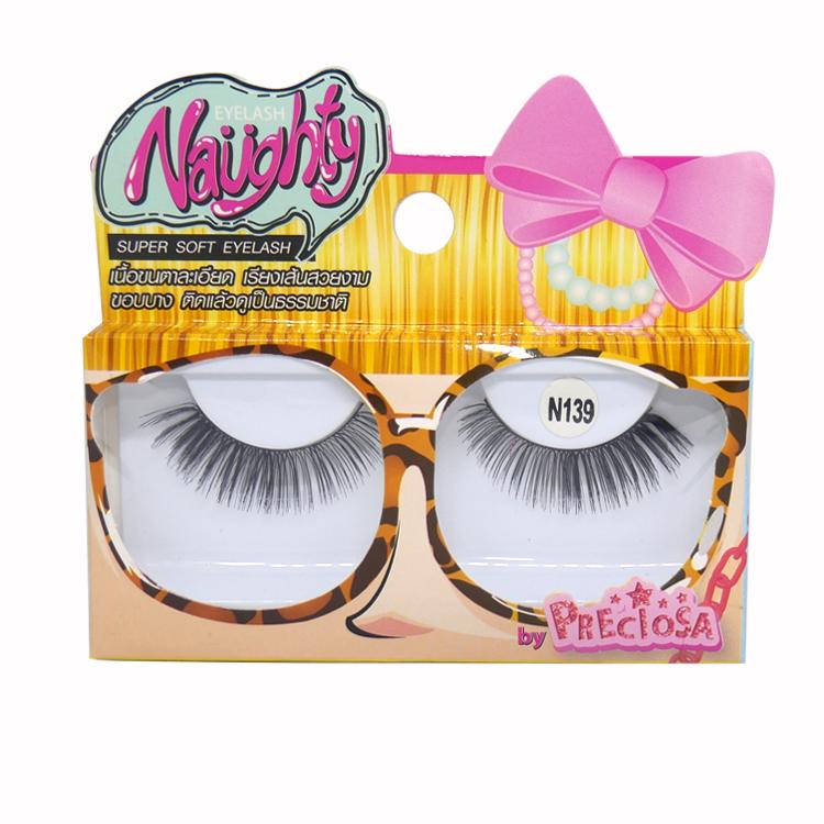 PRECIOSA Naughty Eyelash ขนตา พรีโคซ่าน๊อตตี้ 1 คู่ N139 PS620 ราคาส่งถูกๆ W.25 รหัส AE43-3