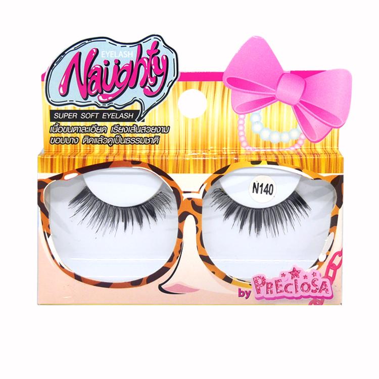 PRECIOSA Naughty Eyelash ขนตา พรีโคซ่าน๊อตตี้ 1 คู่ N140 PS620 ราคาส่งถูกๆ W.25 รหัส AE43-4