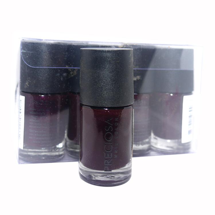 Preciosa Nal Color ยาทาเล็บเจล แบบไม่ต้องง้อเครื่องอบ Set34 สีเดี่ยว (ยกเซ็ต 12 ชิ้น) W.650 รหัส N87
