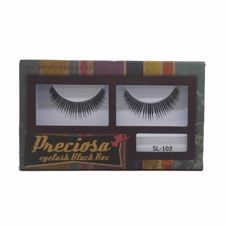 PRECIOSA Eyelash Black Box ขนตาพีโคซ่า SL-102 กล่องกระดาษ PS159 ราคาส่งถูกๆ W.30 รหัส AE20-1