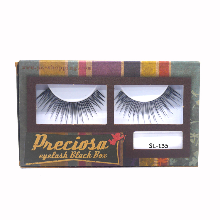 PRECIOSA Eyelash Black Box ขนตาพีโคซ่า SL-135 กล่องกระดาษ PS159 ราคาส่งถูกๆ W.30 รหัส AE20-2