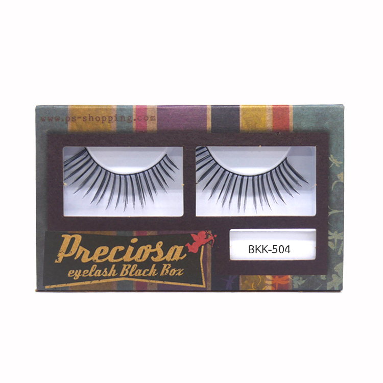 PRECIOSA Eyelash Black Box ขนตาพีโคซ่า BKK-504 กล่องกระดาษ PS159 ราคาส่งถูกๆ W.30 รหัส AE20-5