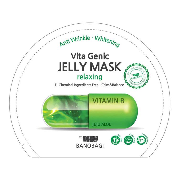 BANOBAGI Vita Genic Jelly Mask ( relaxing ) ราคาส่งถูก W.50 รหัส FM8-1