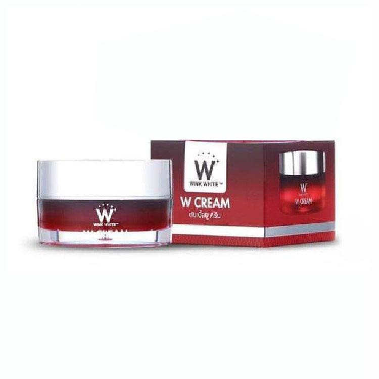 W CREAM ดับเบิ้ลยู ครีมบำรุงผิวหน้า Wink White 12 ml. ราคาส่งถูกๆ W.125 รหัส TM1024