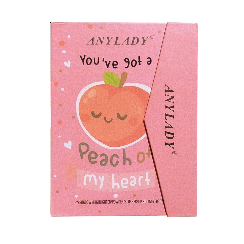Anylady Peach of My heart fruit palette น้อง Peach my heart ราคาส่งถูกๆ W.215 รหัส ES618