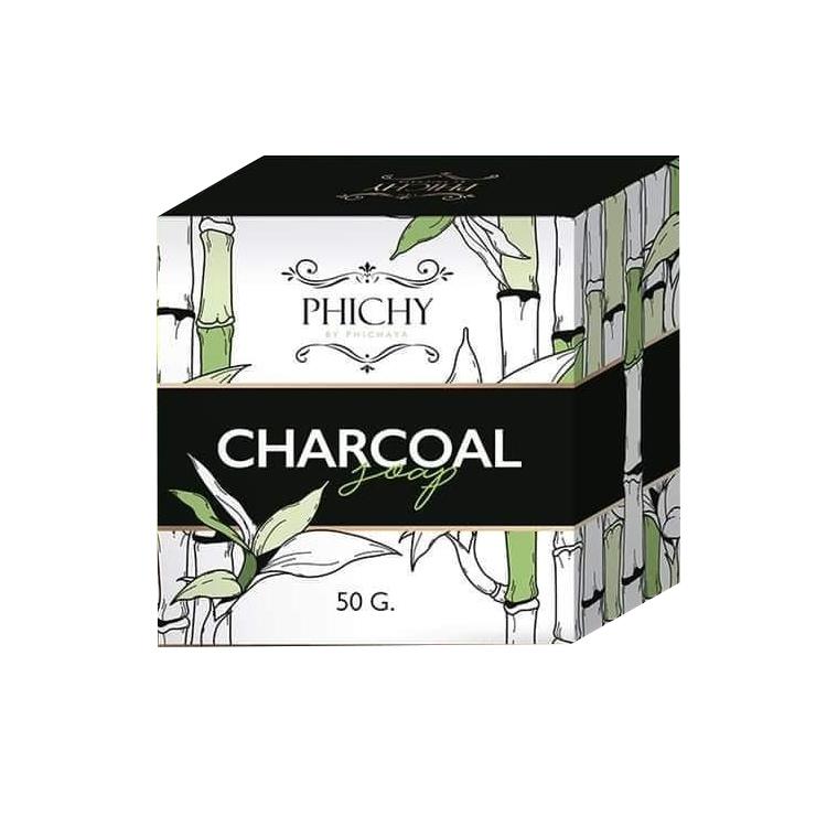 Phichy Charcoal สบู่ชาโคล พีชชี่ ราคาส่งถูกๆ W.90 รหัส FC112