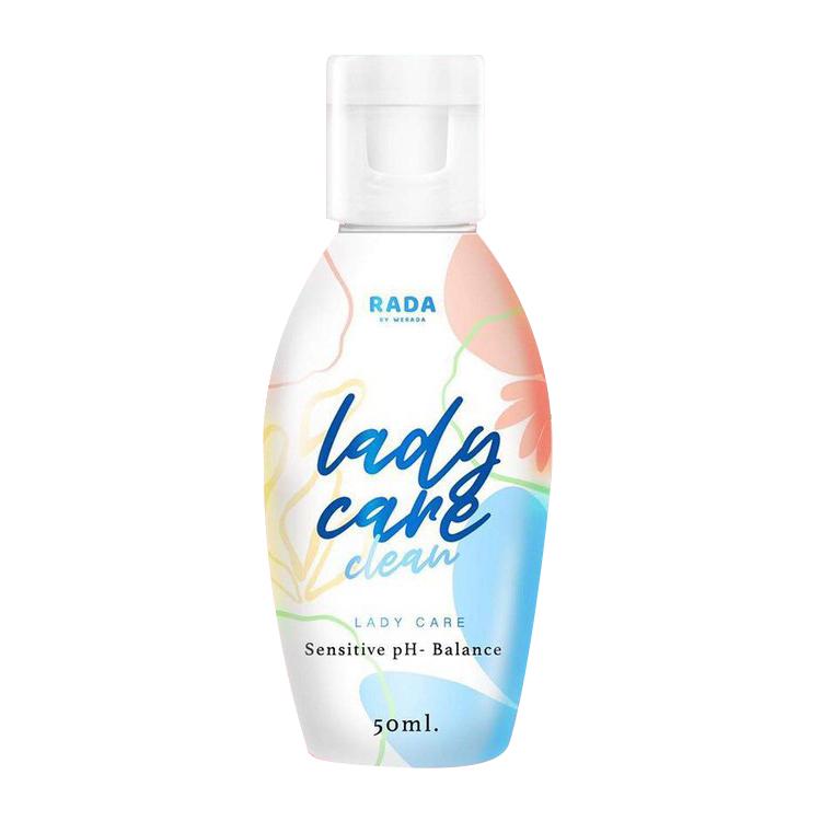 RADA Lady Care Clean รดาเลดี้เเคร์ ผลิตภัณฑ์ ทำความสะอาดจุดซ่อนเร้น 50 ml W.100 รหัส SP190