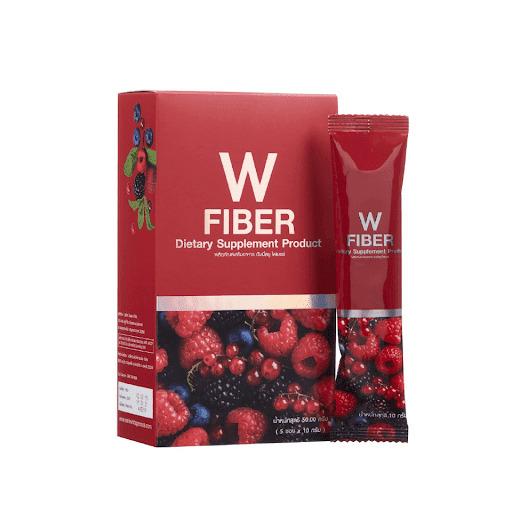Fiber W แพคเกจใหม่ แพนเซีย ดับเบิ้ลยูไฟเบอร์ (5 ซอง) W.160 รหัส I60