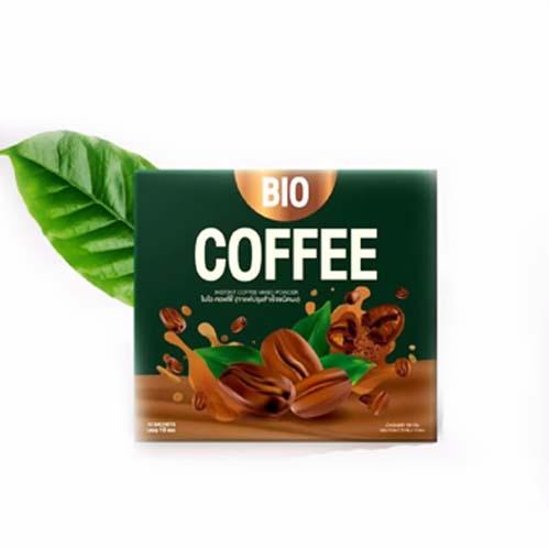 BIO Coffee ไบโอ คอฟฟี่ ของเเท้ 100 1 กล่อง มี 10 ซอง W.170 รหัส.CP100