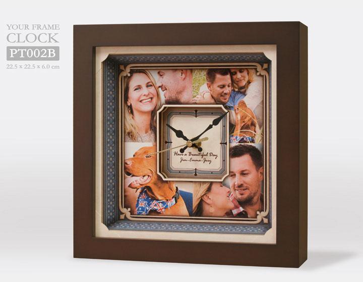 กรอบรูปนาฬิกา PT002B