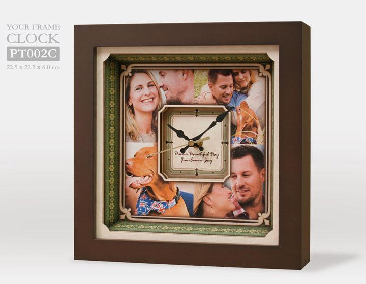 กรอบรูปนาฬิกา PT002C
