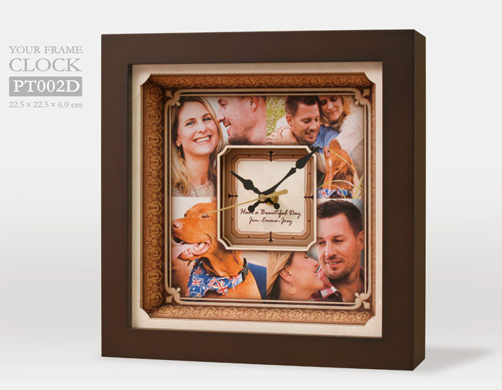กรอบรูปนาฬิกา PT002D