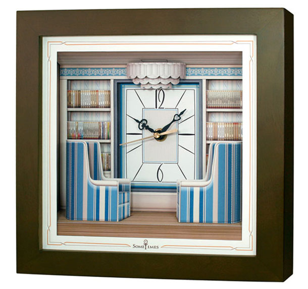 นาฬิการูปภาพ 3 มิติ MT002B