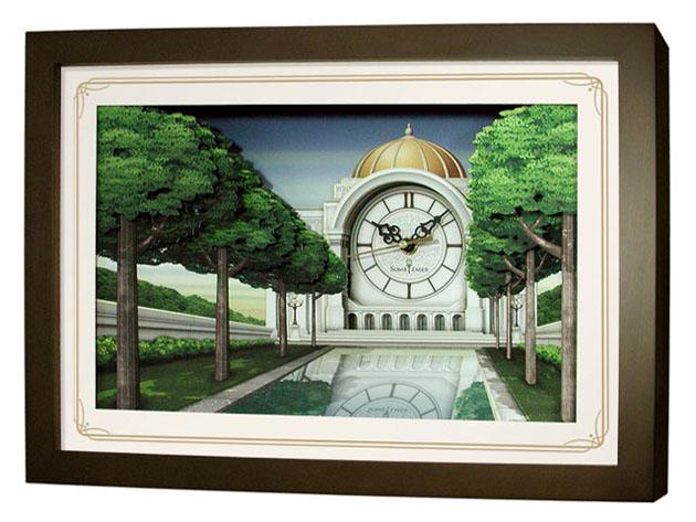 นาฬิการูปภาพ 3 มิติ SW008B