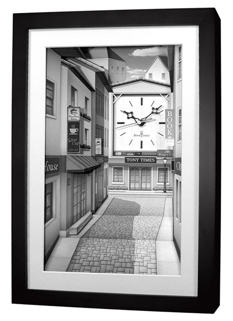 นาฬิการูปภาพ 3 มิติ SW009B