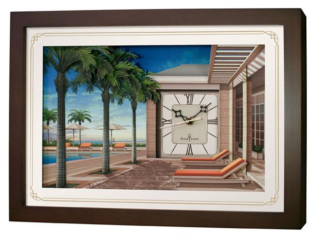 นาฬิการูปภาพ 3 มิติ  SW015B
