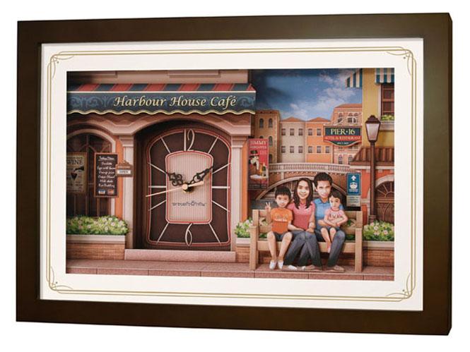 นาฬิการูปครอบครัว No.04