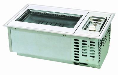 เตาย่างอินฟาเรด smokeless แบบฝังในโต๊ะ RINNAI รุ่น RMR-503 (BBQ Griller)