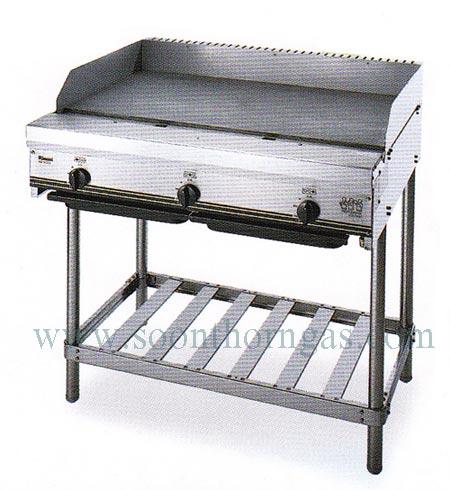 เตากริล เตาเทปันยากิ แบบตั้งพื้น 3 หัว RINNAI รุ่น RSB-903H Griddle(Tepanyaki Cooker)