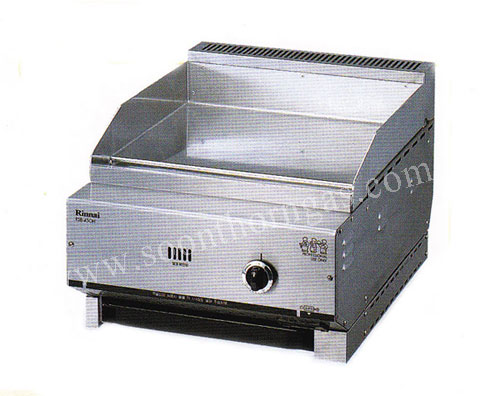 เตากริล เตาเทปันยากิ แบบตั้งโต๊ะ 1 หัวเตา RINNAI รุ่น RSB-450H Griddle(Tepanyaki Cooker)